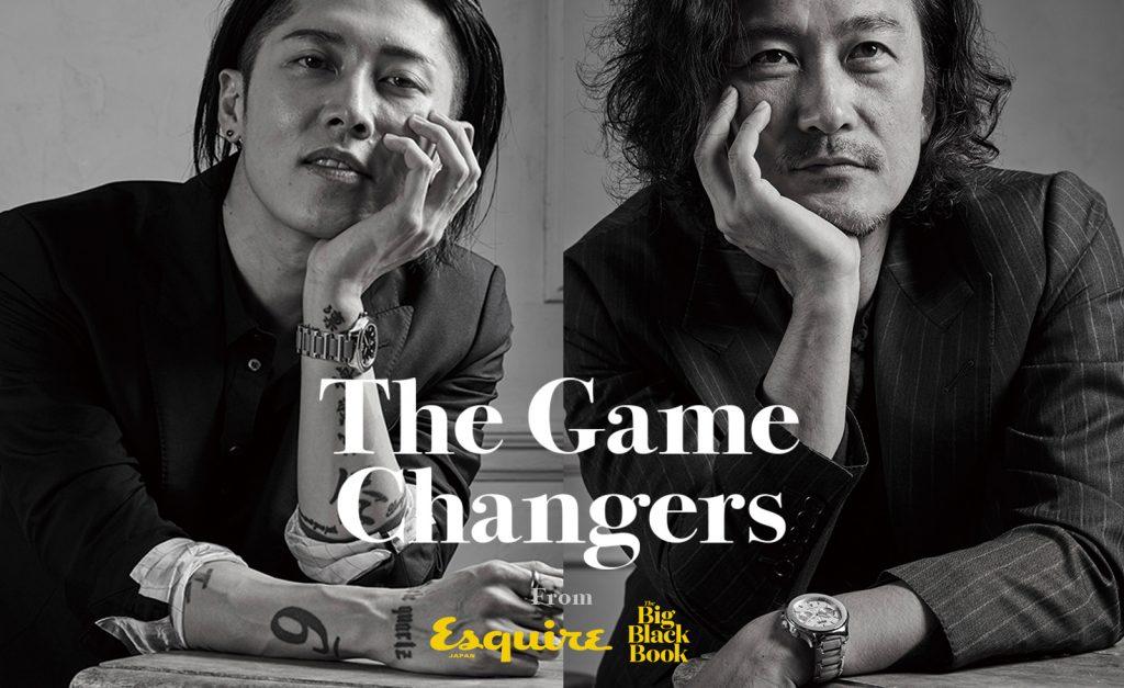The Game Changers - 世界を揺るがす挑戦者達 - MEN'S CLUB様