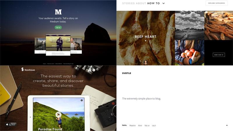 新しいブログプラットフォームから見る...|Design Report